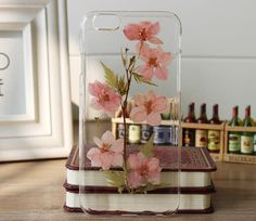 pressed flowers iphone 6 case iphone 6 plus case by FlowerCases