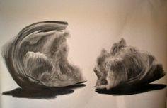 Fin graphite drawing