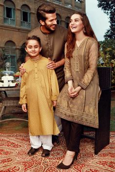 Our Much Awaited Eid Collection is Almost in Stores and Online. Our Shoot Features the Lovely Aiman Khan, Partner and Cute Kid. Umair Bin Nasir has done a great job at showing the true brilliance of this collection! #AimanKhan #Edenrobe #EidCollection17 #SummerCasual #PakistaniFashion #PakistaniCelebrities  ✨