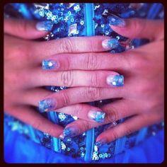 Prom nails by Tara