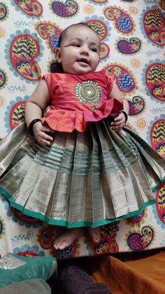 Kids Dress Wear, Dresses Kids Girl, Kids Outfits, Baby Girl Lehenga, Kids Lehenga, Baby Girl Fashion, Kids Fashion, Kids Dress Collection, 5 Month Old Baby