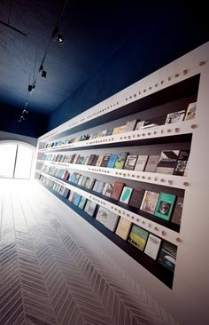 The Cool Hunter - Science Cafe Library by Anna Wigandt