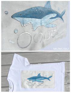 Óscar de cinco años lo tiene claro, ama los animales. Sobre todo si son fieros y muestran sus grandes dentaduras. Seguro que desde ahora ésta será su camiseta favorita!