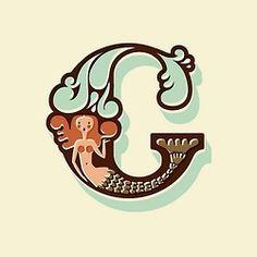 The Letter C Mermaid @caroline k. k. k. k. k. Merck