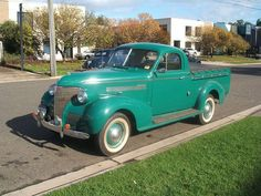 1939 Chev Coupe Ute. Holdens body.