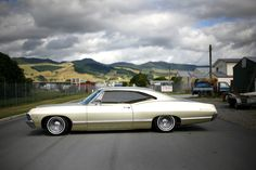 Cruising New Zealand In A Impala 1967 Chevy Impala, 67 Impala, Convertible, Automotive Photography, Us Cars, Performance Cars, American Muscle Cars, Custom Cars, Cars And Motorcycles