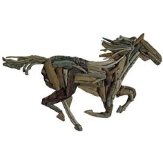 Driftwood Horse Art Work £79.99