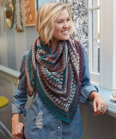 Check out the Easy Woman Crochet Wearables Patterns Roundup! You can click the Bolded link or the Photo to get access to the Free Pattern! Get more Knitella Roundups here! Kaleidoscope Shawl Tunisian Lace Poncho Two-Rectangle Cardigan Half Moon Scarf Cherie Lace Shawl
