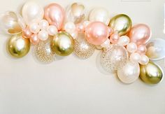 WOW your Guests with this FUN and Easy DIY Garland! You can make your own Gorgeous Backdrop! With our Complete Kit, you can put together this Super Cute Balloon Garland that makes a wonderful statement piece! Perfectly sized to fill a wall for over a Cake and Present Table, a wonderful