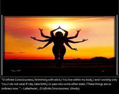 Lalleshwari , O Infinite Consciousness