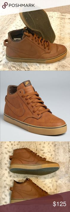 🆕NEW Chestnut Nike Braata Lr Mid New Chestnut Nike Braata Lr Mid, size 10. Brand new, perfect condition, clean soles, no flaws. Rare Chestnut color, genuine leather. A classic, clean, everyday shoe. Nike Shoes Sneakers