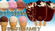 ice cream Finger Family Nursery english 3d  rhymes    Children Animated ...