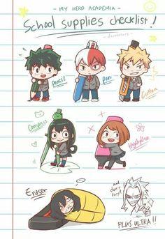 Midoriya Izuku & Todoroki Shouto & Bakugou Katsuki & Tsuyu Asui & Uraraka Ochako & Aizawa Shota & All Might