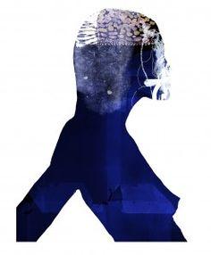 Daniel Egneus / Blue Woman