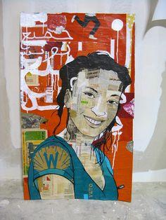 Tous unis, Tunisie Portrait d'une jeune femme tunisienne