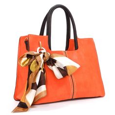 Orange Bia Satchel | Awesome Selection of Chic Fashion Bag| Emma Stine Limited