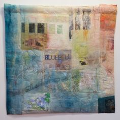 Cas Holmes is a mixed media textile artist living in the UK, she creates textile collages using discarded and 'found materials'. Fiber Art Quilts, Textile Fiber Art, Textile Artists, Textiles, Cas Holmes, Free Motion Embroidery, Machine Embroidery, Collage Art Mixed Media, Fabric Art