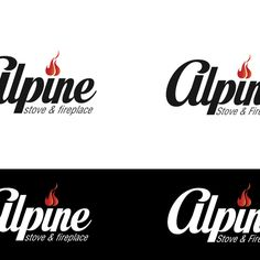 Alpine Stove & Fireplace - Classy, High End Fireplace Company in Search of the Perfect Logo