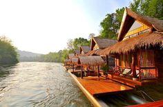 3-Day River Kwai Floathouse Tour from Bangkok  #PrivateTours #CityTours #Thingstodo #Activities #Tours #Bangkok #Floathouse #River