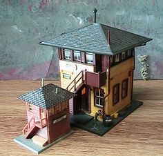 N Scale Paper Buildings Downloads | ... show you some neat things about the world of n scale n scale has a