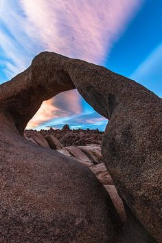 https://flic.kr/p/FbCEGq | Mobius Arch Sunset | Mobius Arch Sunset  Alabama Hills Owens Valley California