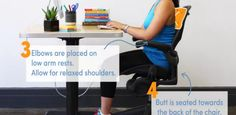 Are You Sitting Right Now? Check Your Posture With This Infographic