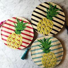If you like piña coladas, you'll love Kayu's newest bags, shop them on Moda Operandi now!