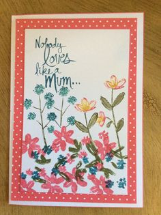 Stampin' Up! mother