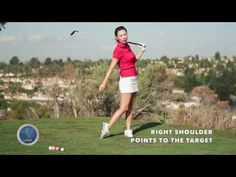 [Golf with Aimee] Aimee's Golf Lesson 011: How to hit a Three Wood - YouTube
