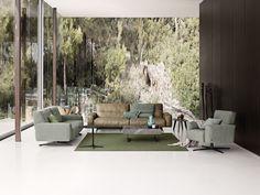 NEW Rolf Benz 50 sofa line! Rolf Benz Studio, Boston, MA.