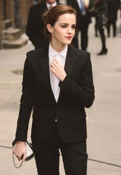 "flawless-emma: "" Emma Watson - Late Show with David Letterman Arrivals - 25 March 2014 "" http://www.styleclassandmore.tumblr.com"