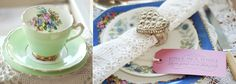 Vintage China Hire from Rosie Loves Vintage in Hampshire