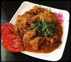 Chinu's Kitchen Corner: Curry leafs pepper Chicken