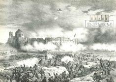Efemérides INEHRM.- 26 de marzo de 1863. Las fuerzas francesas de intervención bombardean el fuerte Iturbide en Puebla. Durante el Sitio de Puebla de 1863, el fuerte Iturbide, formado por el convento de San Javier y el edificio de la Penitenciaría, en la ciudad de Puebla, fue la posición mexicana que más daños recibió por parte de la artillería francesa.