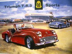 Triumph T.R.3 poster