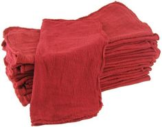 Shop Towels RedCommercialIndustrial B Grade MHF brand  1000 piece box  NEW 100 Cotton -- Visit the image link more details.