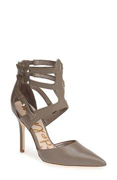 Sam Edelman 'Durham' Pointy Toe Leather Pump (Women)