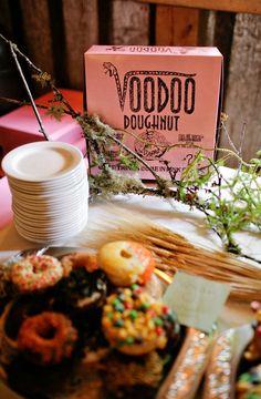 Doughnuts! Photography by amandakphotoart.com, Floral Design   Decor by marthaeharris.com