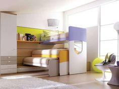 Компактная зона отдыха с тремя спальными местами