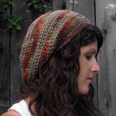 Ravelry: Gumdrop Slouchy Hat pattern by Julie King // love this pattern, but this particular yarn combo is the bomb.