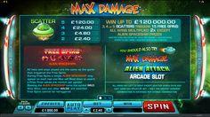 Max Damage Online Slot Game Online Casino Bonus, Loyalty, Arcade Games, Spinning, Slot, Gaming, Free, Hand Spinning, Videogames