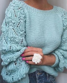 I recently tried a new feature store … - Knitting Crochet Sweater Knitting Patterns, Knitting Designs, Knit Patterns, Free Knitting, Knitting Yarn, Pull Crochet, Knit Crochet, Tricot D'art, Jugend Mode Outfits