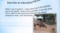 Real Ielts speaking part 2|Describe an educational trip you went on.