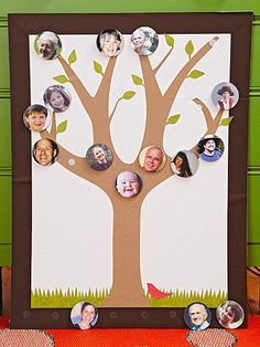 Fun for Little Ones: How to Make a Family Tree (via Parents.com)