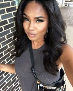 "3 bundles 16"" body wave virgin human hair weaves from http://www.latesthair.com/"