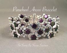 A personal favorite from my Etsy shop https://www.etsy.com/listing/505456997/pinwheel-arcos-bracelet-tutorial