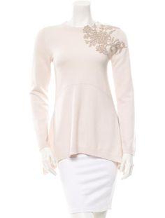 Brunello Cucinelli Embroidered Cashmere Sweater