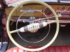 Hudson Coupe Interior | 1949 Hudson Car interior | Dream Car's & Motorcycles