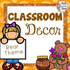 Classroom Decor Bear Theme Bear Theme Preschool, Preschool Classroom Themes, Classroom Decor Themes, Classroom Rules, Primary Classroom, Classroom Organization, Bear Bulletin Board Ideas, Classroom Bulletin Boards, Beginning Of Kindergarten