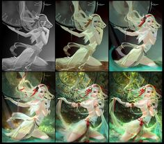 ArtStation - Inula, Loved by Time II, YU-HAN CHEN